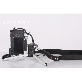 Leofoto Pocket Mini Tripod MT-01 + Ballhead LH-25