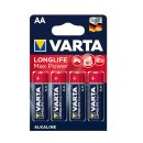 Varta Longlife Max Power Mignon 4er Pack  AA 1,5 V...