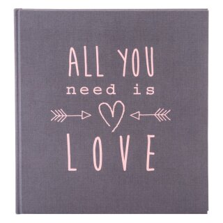 Goldbuch Hochzeitsalbum All you need 30x31cm