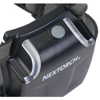 Nextorch myStar 760 Lumen Black Sonderedition LED Kopflampe